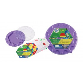Pattern Blocks Work Tray