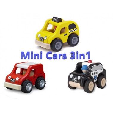 Great Price for 3 Mini Car