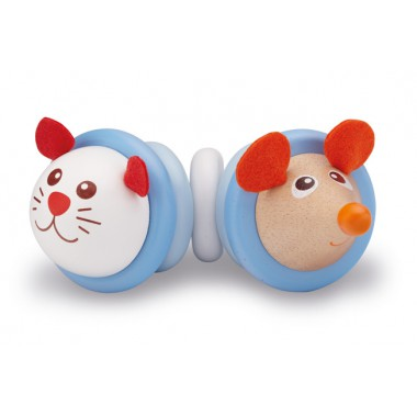 Blue Cat Rattle