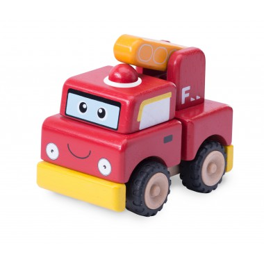 Mini World-Build A Fire Engine